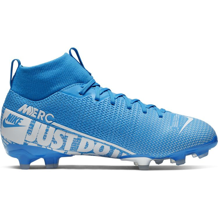 timeless design 28237 5b977 Nike Jr. Mercurial Superfly 7 Academy MG Blue