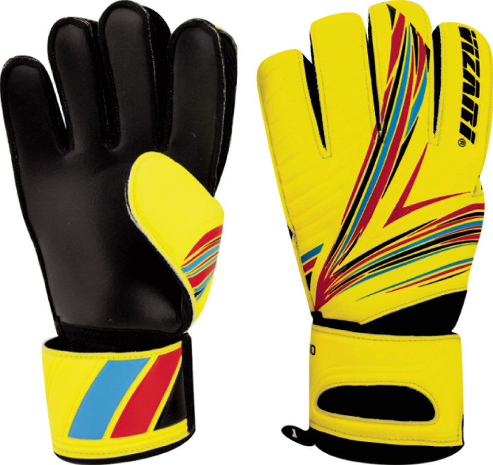 Vizari Rimo (FRF) Goalkeeper Gloves Yellow/Black/Orange
