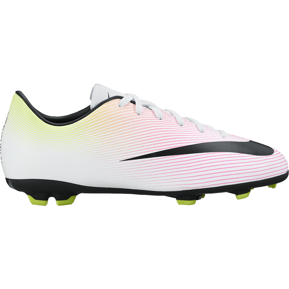 1b553363e7 Nike Jr. Mercurial Victory V (Fg) White/Volt/Total Orange/Black – Sport Zone