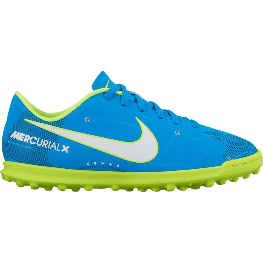 Nike Jr MercurialX VTRX III NJR TF Blue/Green