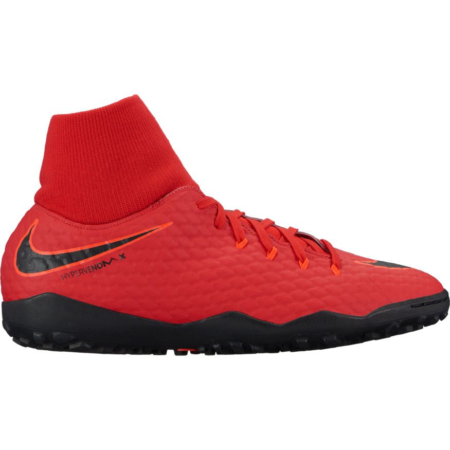 Men's Nike HypervenomX Phelon 3 DF Turf Red