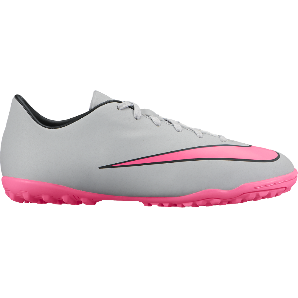 Jr Mercurial Victory V Tf Wolf Grey/Black//Hyper Pink