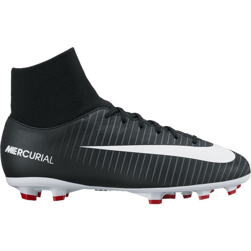 Kid's Nike Mercurial Victory VI Dynamic Fit (FG) Firm-Ground Football Boot Black