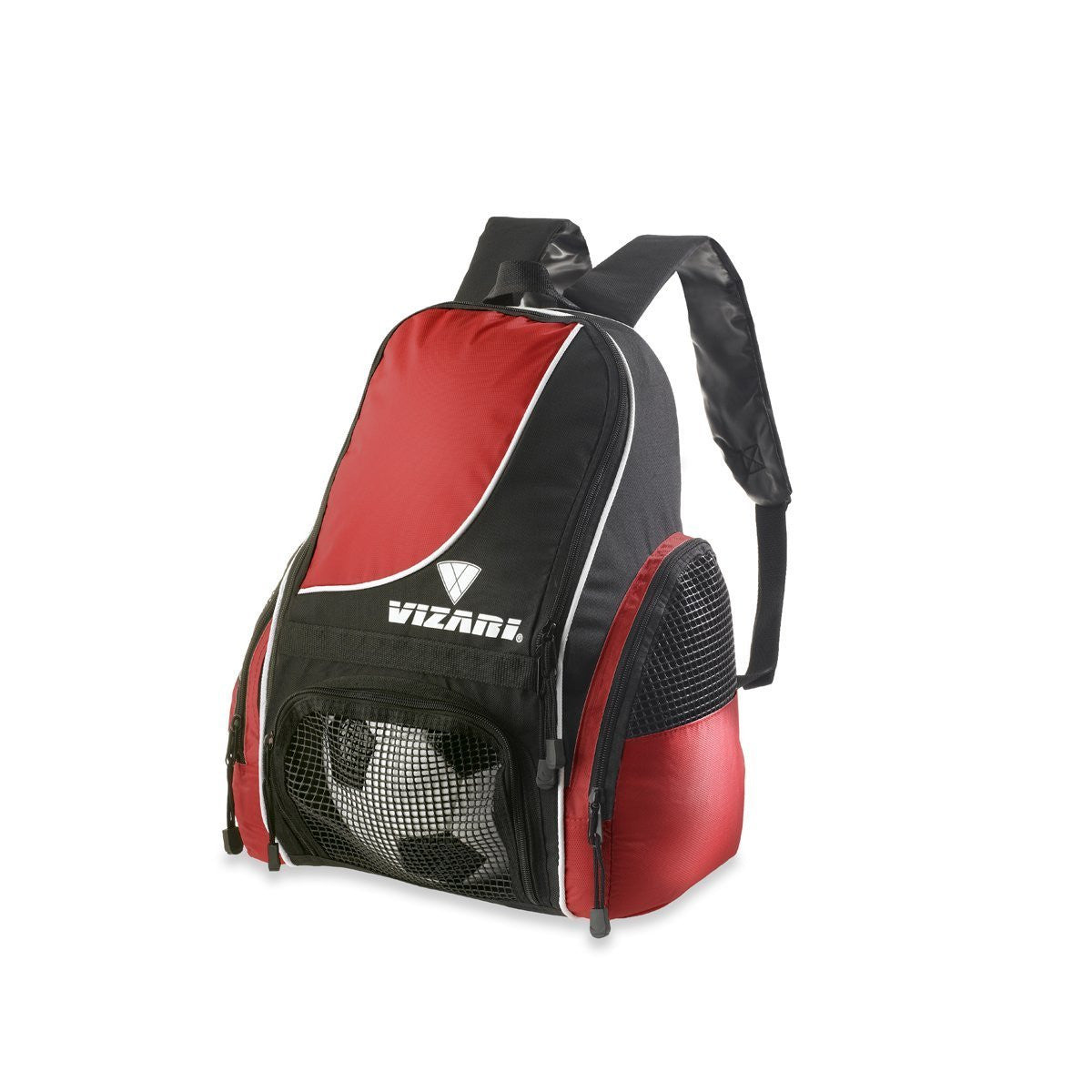 Solano Back Pack Blacl/Red