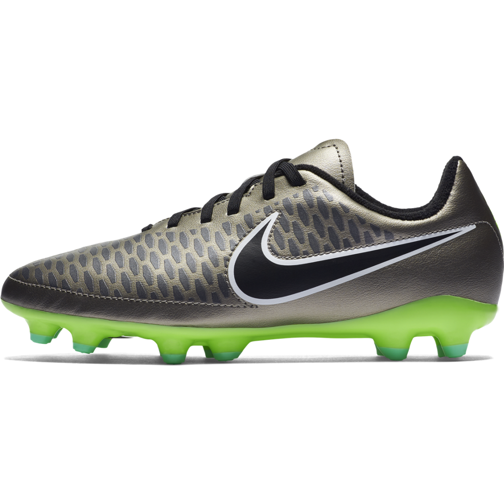 Nike Junior Magista Onda (Fg) Mtlc Pewter/Ghost Green//Black