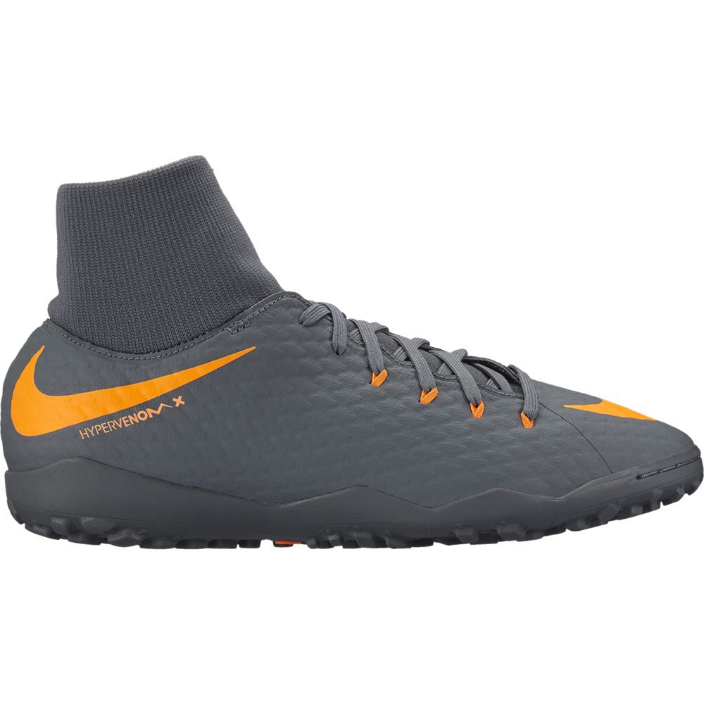 Men's Nike PhantomX 3 Academy DF TF Gray/Orange
