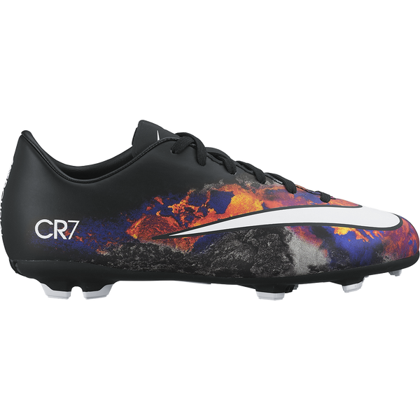 Nike Jr. Mercurial Victory V Cr Fg Black/Total Crimson//White