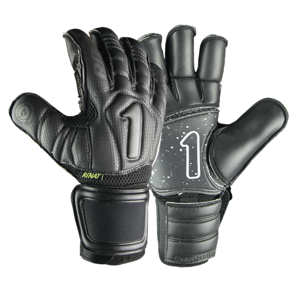 Rinat Uno ALPHA Spines Pro Goalkeeper Gloves Black