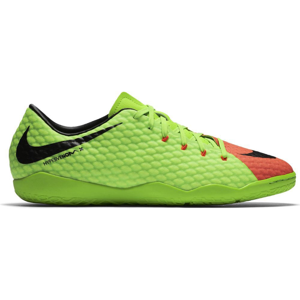 Nike HypervenomX Phelon III IC Electric Green/Black/Orange