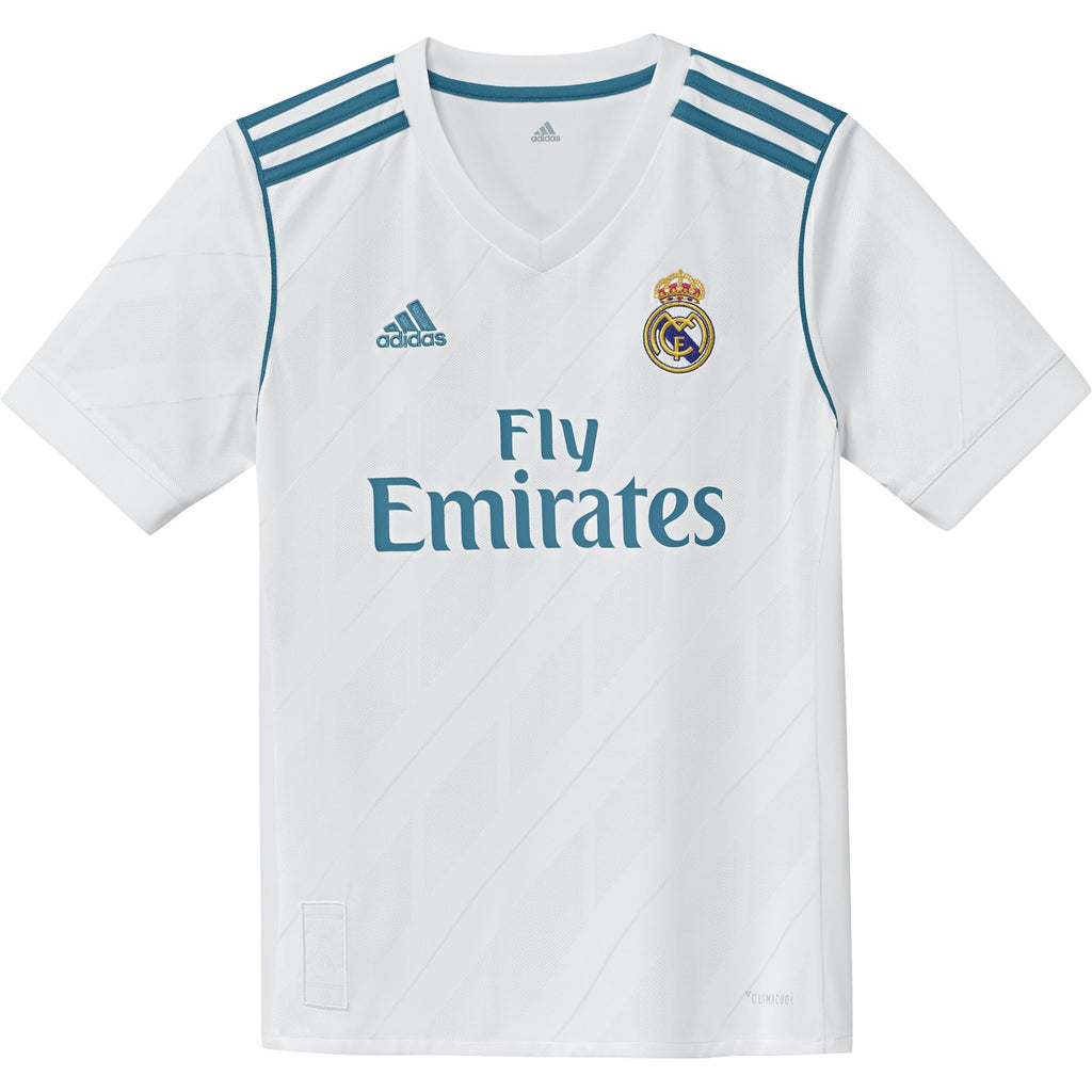 Adidas Jr Jersey Real Madrid Home