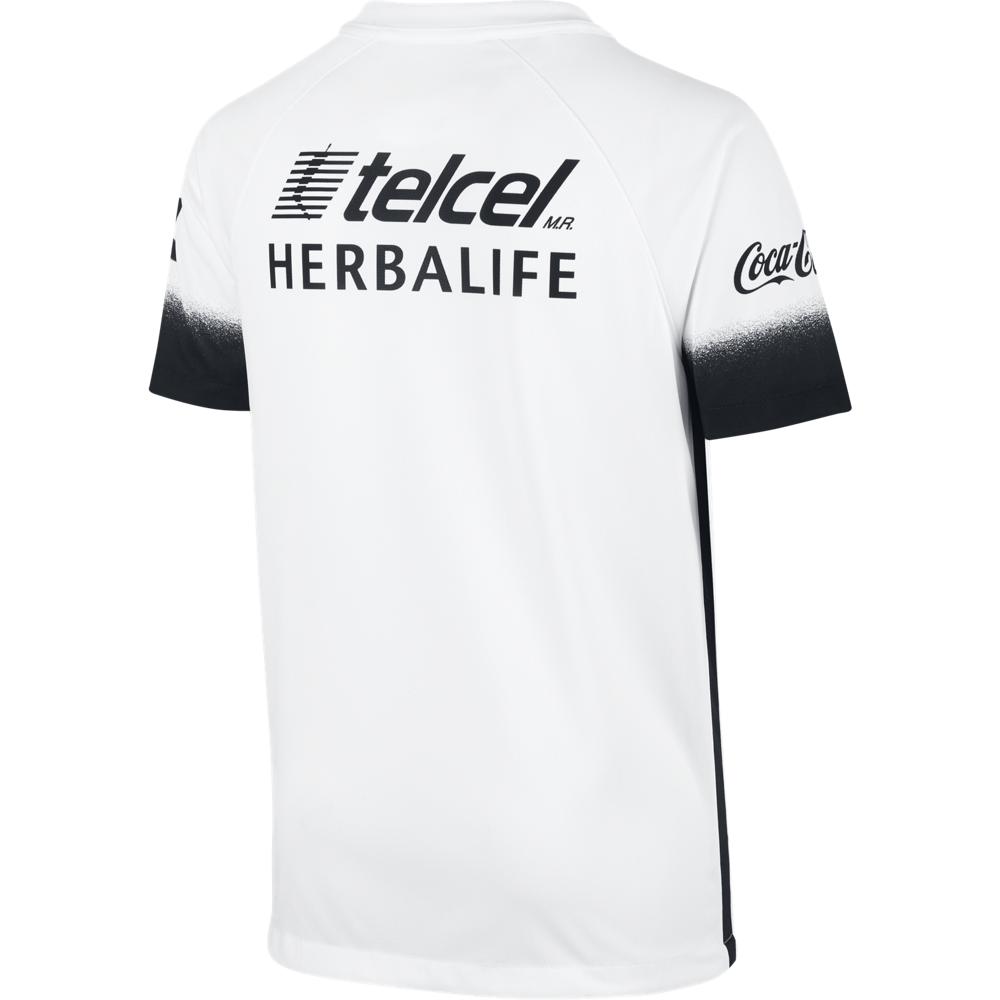 Club Universidad Nacional A.C. Stadium Decept Football White/Black//Black