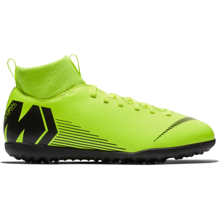 Nike Jr Superfly 6 Club TF Volt/Black