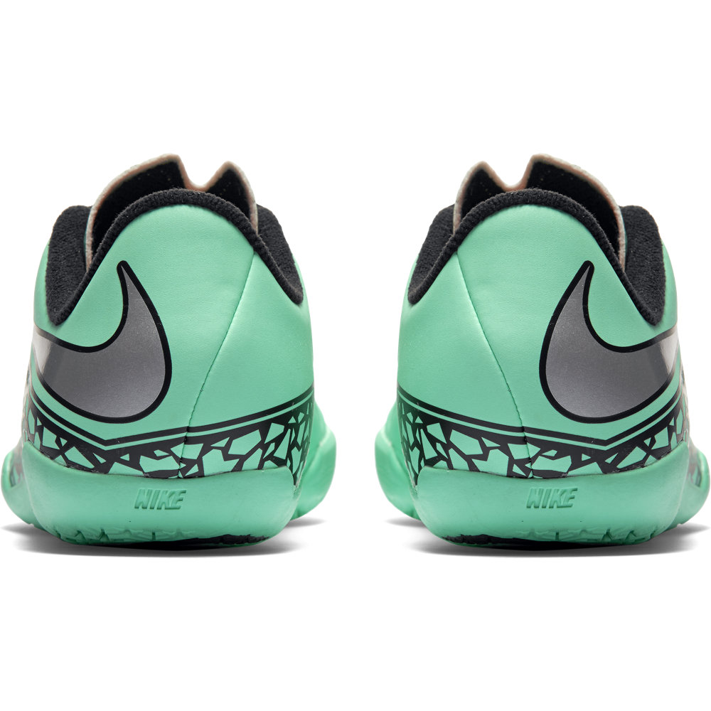 Nike Junior Hypervenom Phelon Ii (Ic) Green Glow/Hyper Orange//Metallic Silver