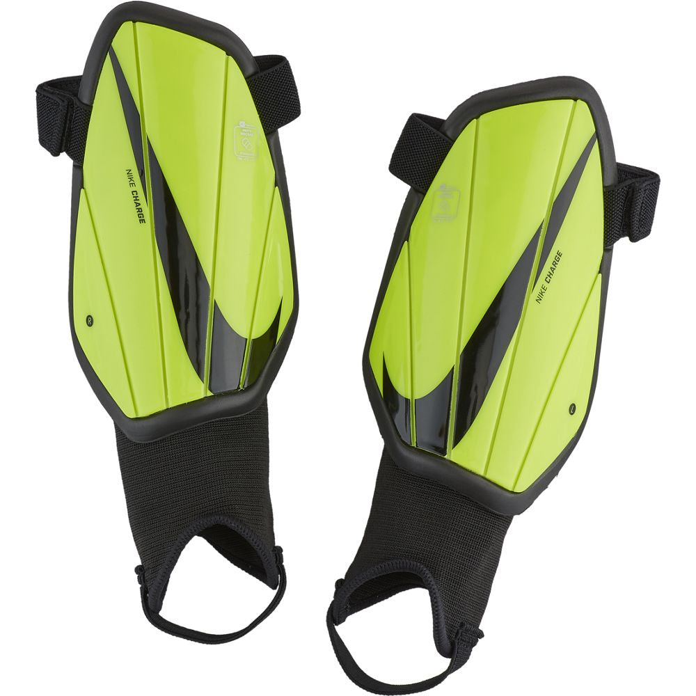 Nike Charge Youth Soccer Shinguard Volt/Black