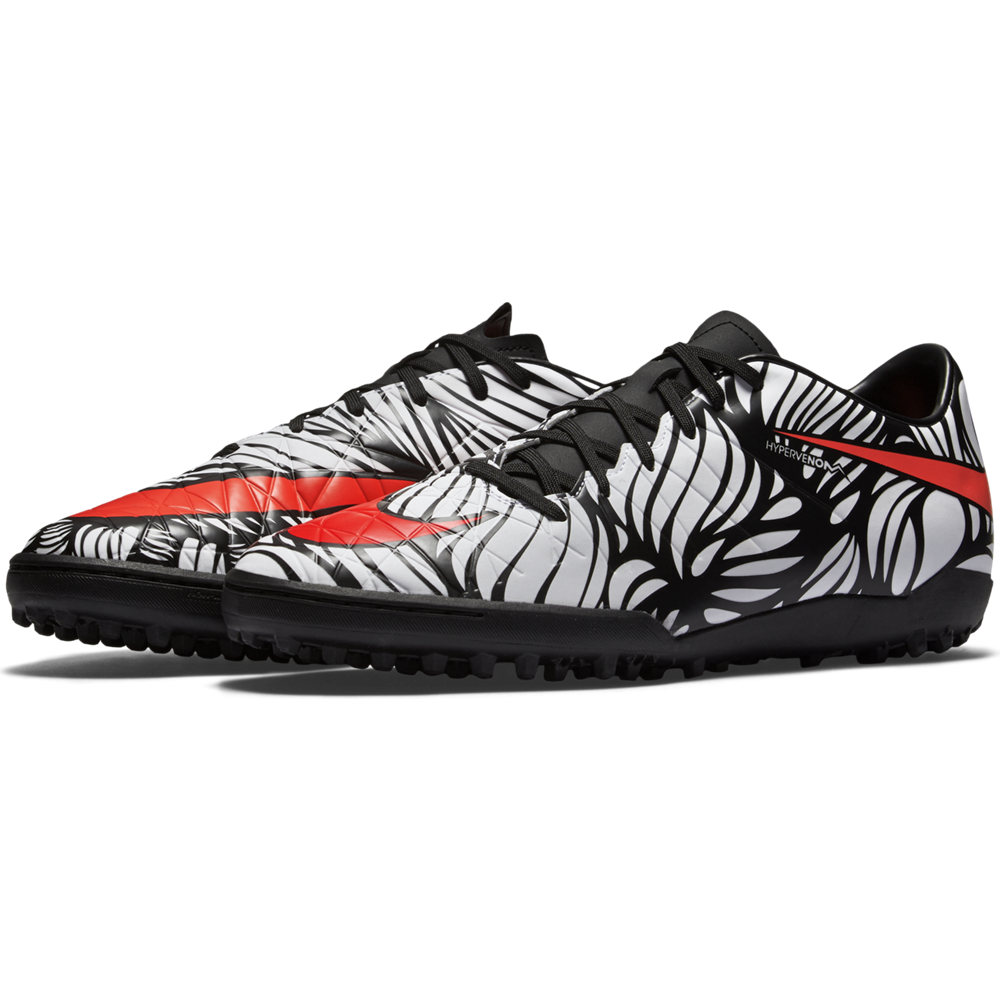 Hypervenom Phelon Ii Njr Tf Black/White//Bright Crimson