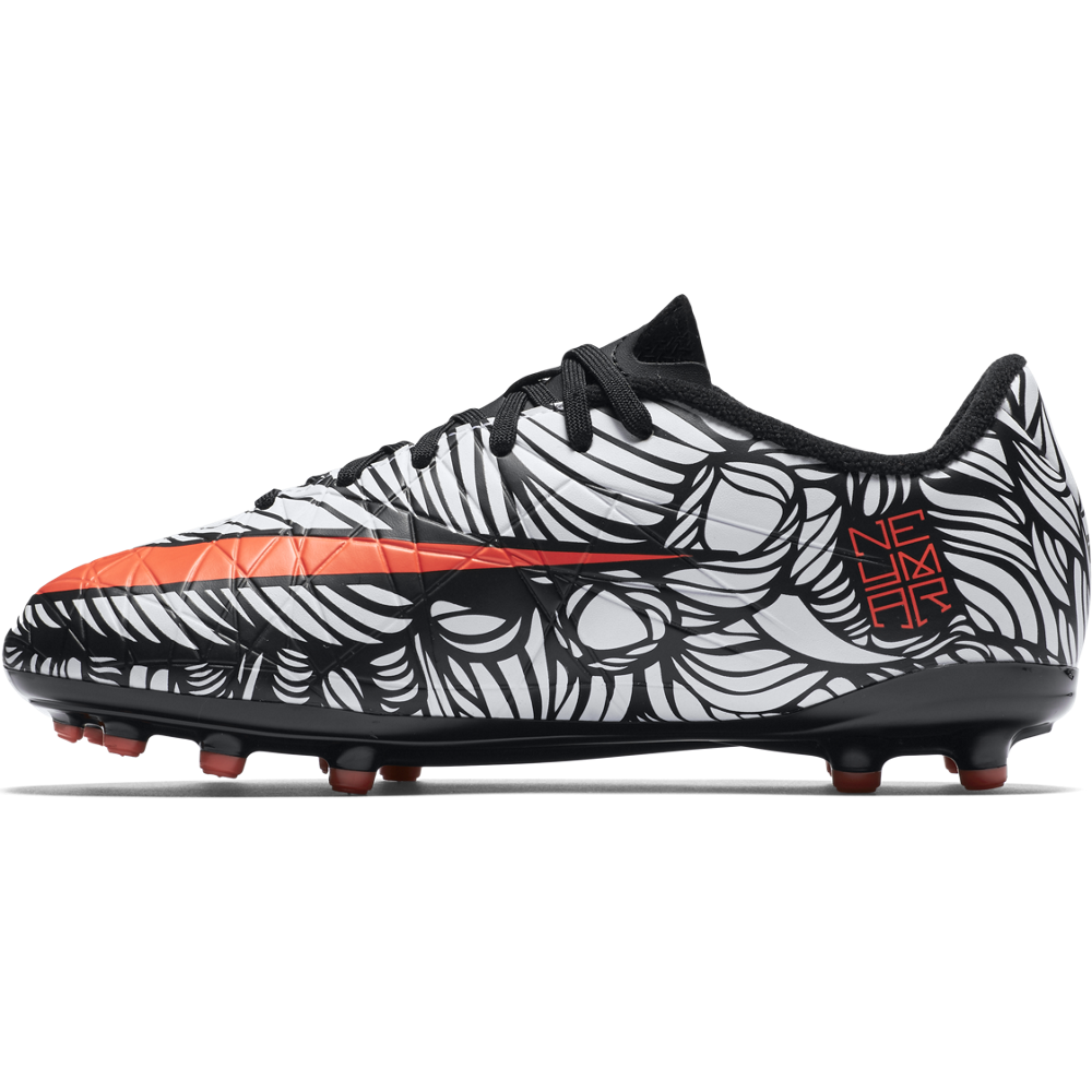 Neymar Junior Hypervenom Phelon Ii (Fg) Black/White//Bright Crimson