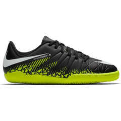 Nike Jr. HyperVenomX Phelon II IC Black/White/Volt