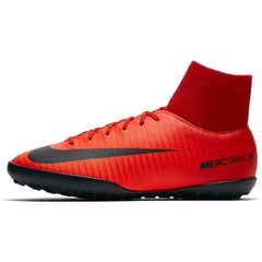 Kids' Nike MercurialX Victory VI CR7 Dynamic Fit (TF) Artificial-Turf Football Boot RED