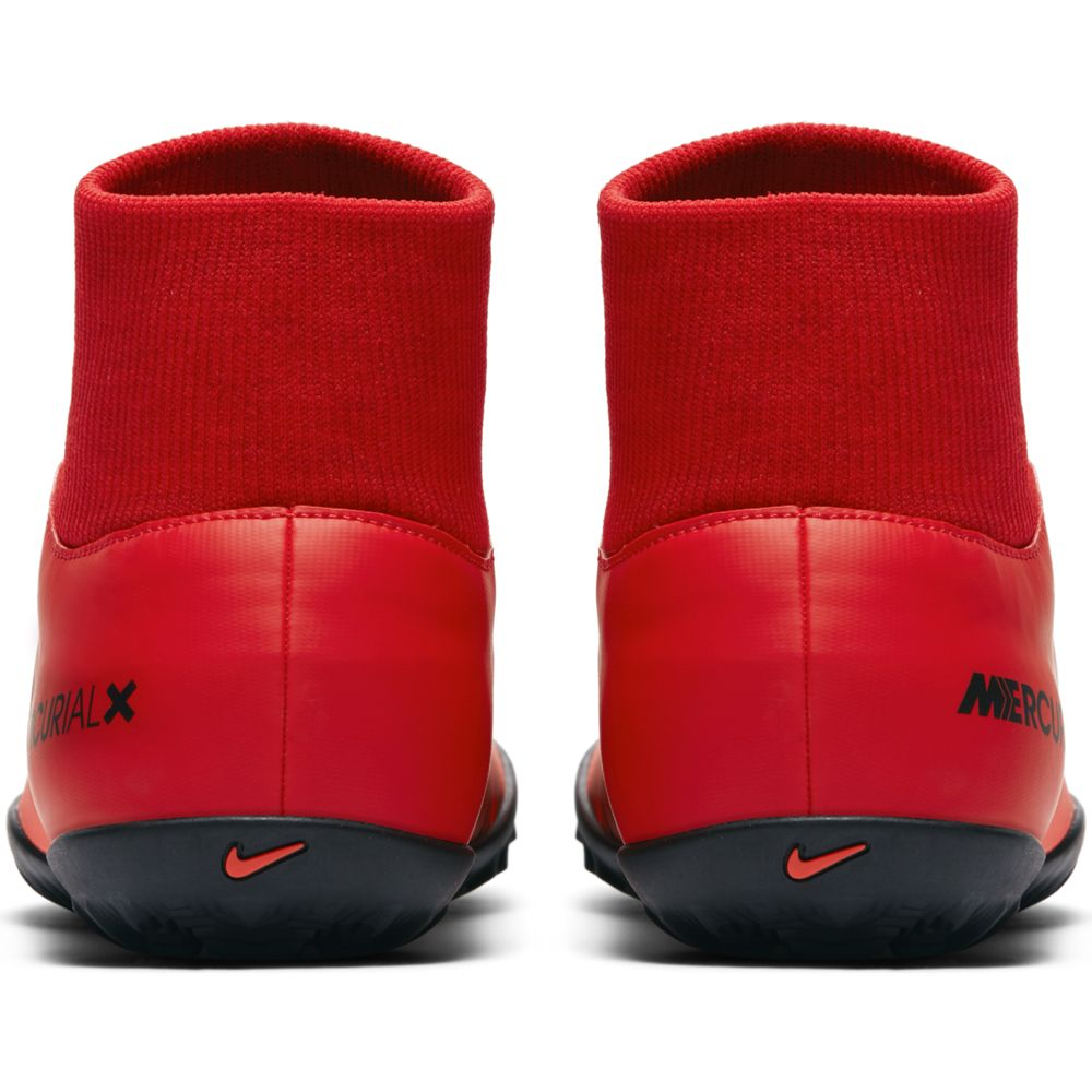 Men's Nike MercurialX Victory VI Dynamic Fit (TF) Artificial-Turf Football Boot RED