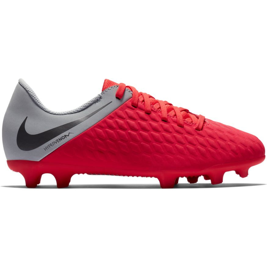 Nike Jr Hypervenom 3 Club FG Red