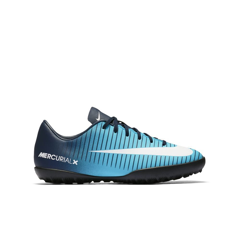 Nike Jr. MercurialX Vapor XI (TF) Turf BLUE