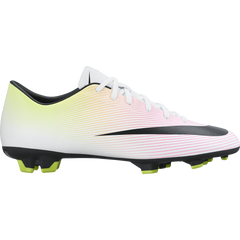 Nike Mercurial Victory V (Fg) White/Volt/Total Orange/Black