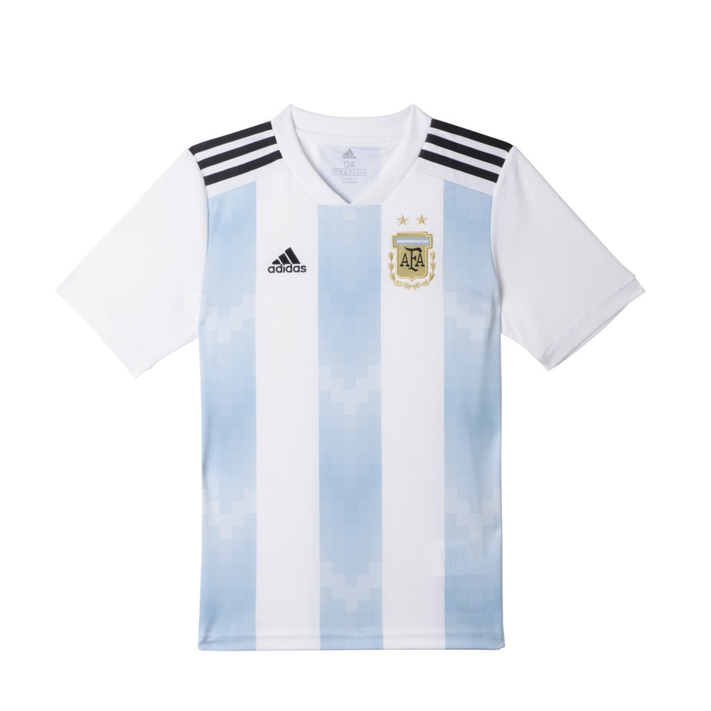 Adidas AFA Argentina Home Jersey Youth Blue/White