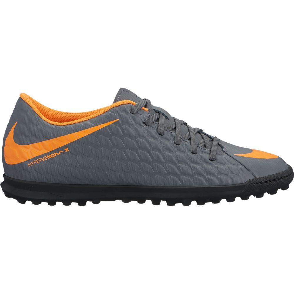 Men's Nike PhantomX 3 Club TF Gray/Orange