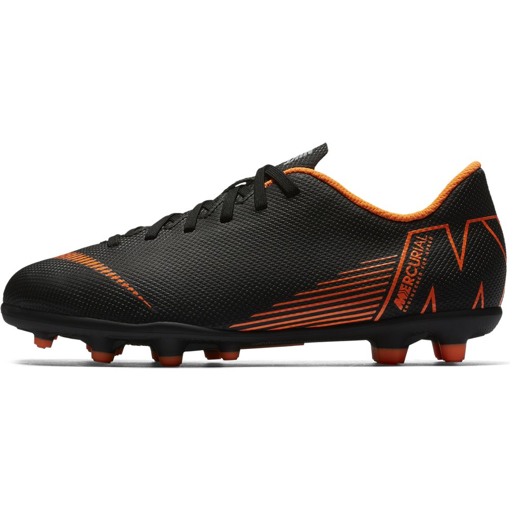 Nike Jr Vapor 12 Club GS MG Black