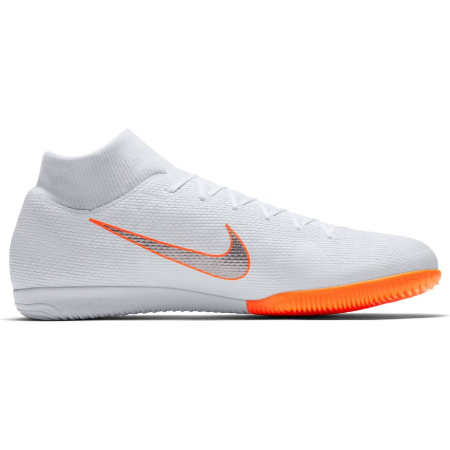 Nike Mens SuperflyX 6 Academy IC White