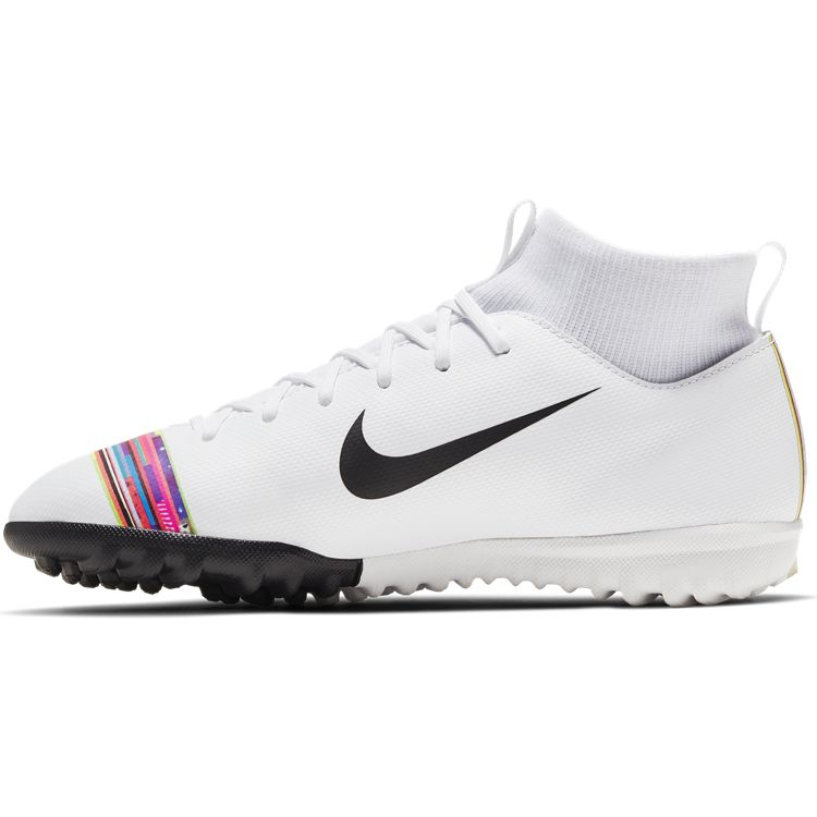 Nike Jr. SuperflyX 6 Academy LVL UP TF White