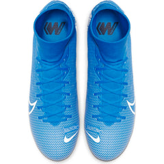 Men's Nike Mercurial Superfly 7 Academy FG or MG Blue