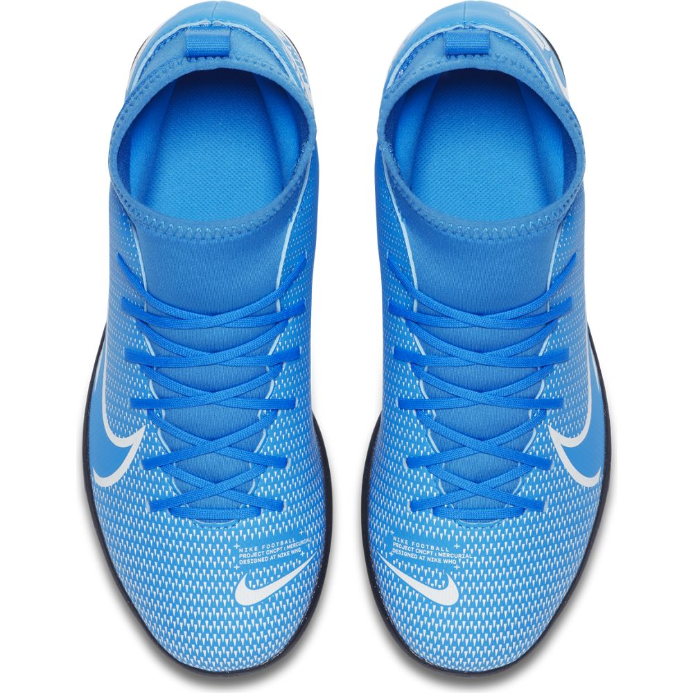 Nike Jr. Mercurial Superfly 7 Club TF Blue