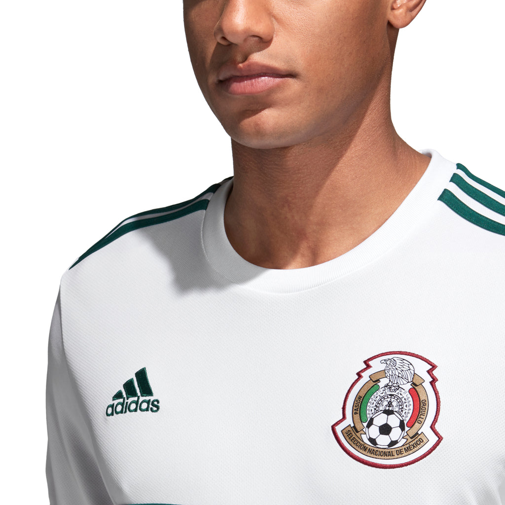 Adidas Mexico Away Jersey Adult White