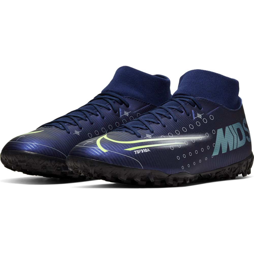 Nike Men's Mercurial Superfly 7 Academy MDS TF Blue