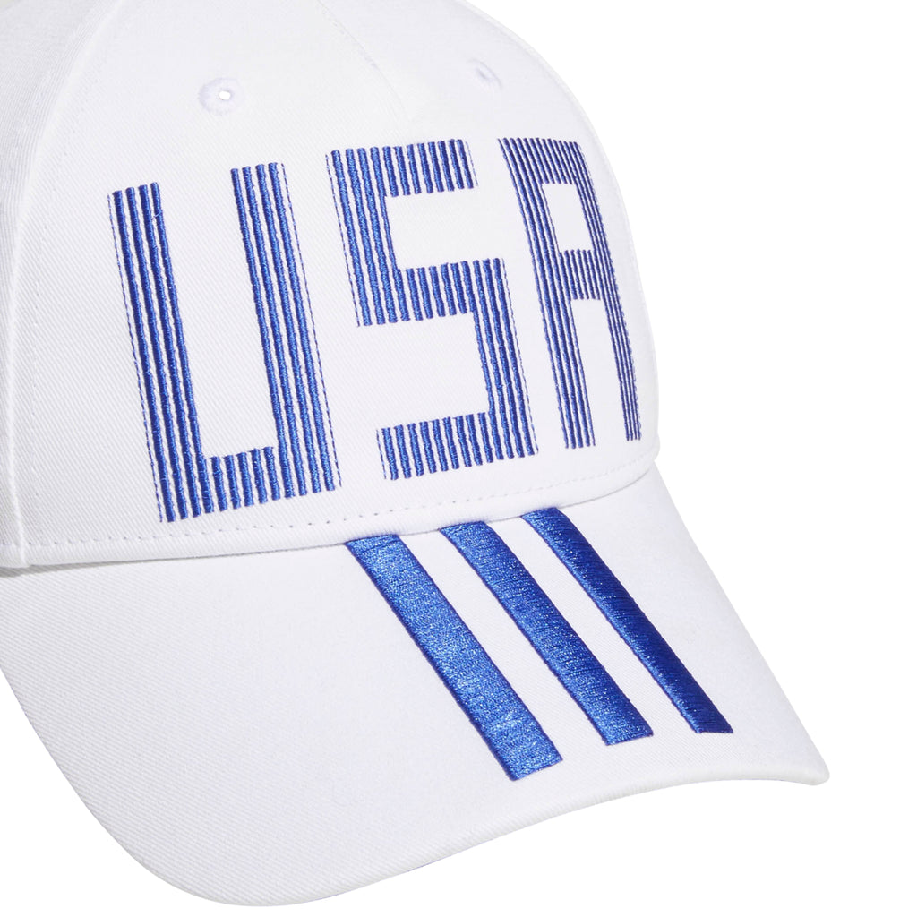Adidas CF Cap USA White/Blue