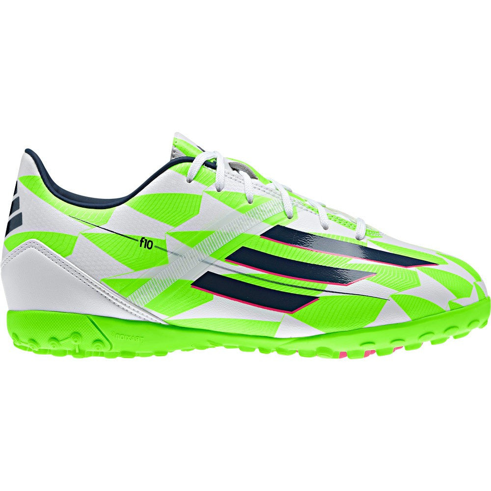 Adidas F10 Mens's Turf White/Green