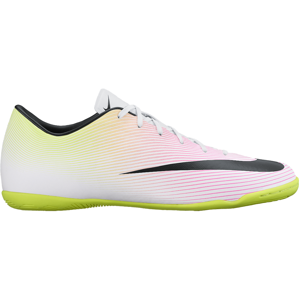 Nike Mercurial Victory V (Ic) White/Volt/Total Orange/Black