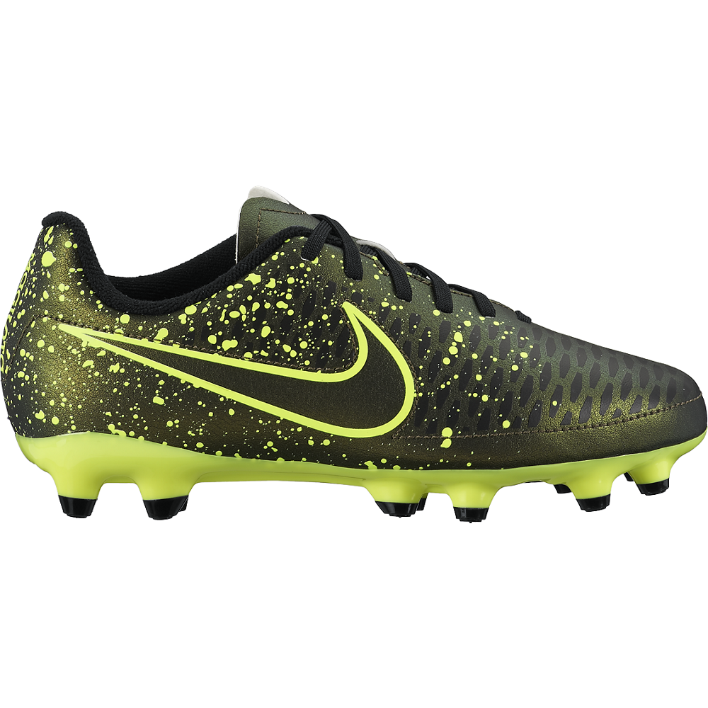 Nike Junior Magista Onda (Fg) Dark Citron/Black//Dark Citron