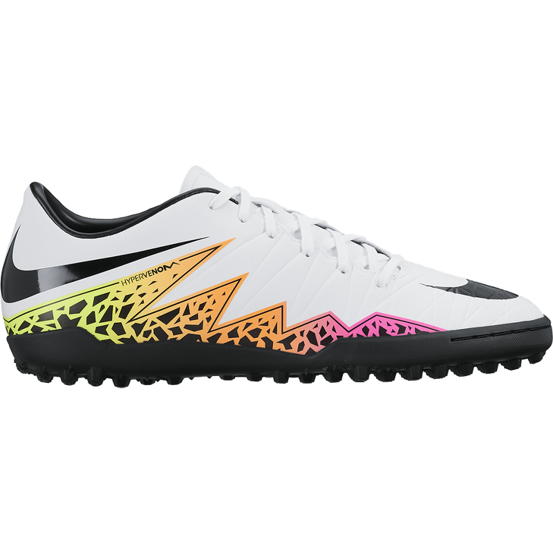 016a0bd5f58d93 Nike Hypervenom Phelon Ii (Tf) White Total Orange Volt Black – Sport Zone