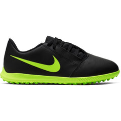Nike Jr. Phantom Venom Club Turf Black/Volt
