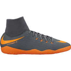 Men's Nike PhantomX 3 Academy DF IC Gray/Orange