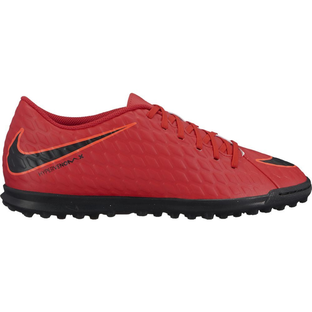 Men's Nike HypervenomX Phade III (TF) Artificial-Turf Football Boot Red