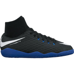 Nike Jr HypervenomX Phelon 3 DF IC Black Blue
