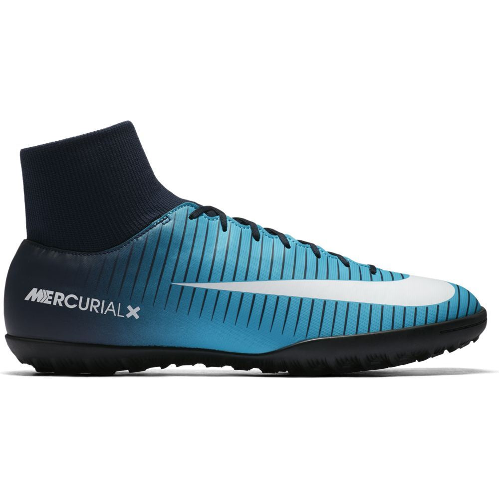 Men's Nike MercurialX Victory VI Dynamic Fit (TF) Artificial-Turf Football Boot BLUE