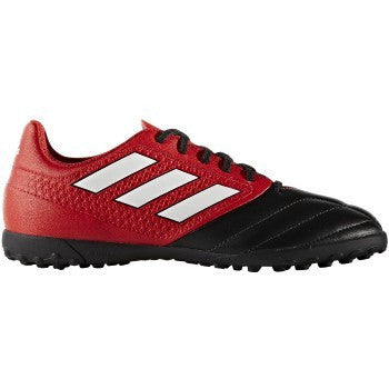 Adidas Ace 17.4 Tf J Red,Ftwwht,Cblack