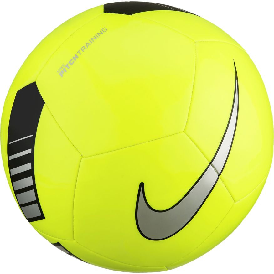 Nike Pitch Training Football Ball Yellow