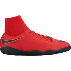 Men's Nike HypervenomX Phelon 3 DF Indoor Red