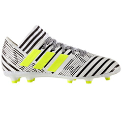 Adidas Nemeziz 17.3 FG J White/Yellow/Black