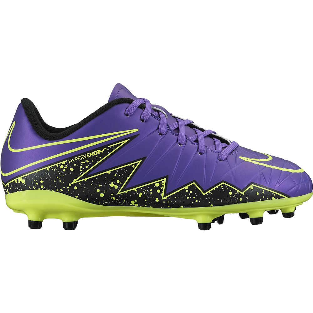 Nike Junior Hypervenom Phelon Ii (Fg) Hyper Grape/Black//Hyper Grape